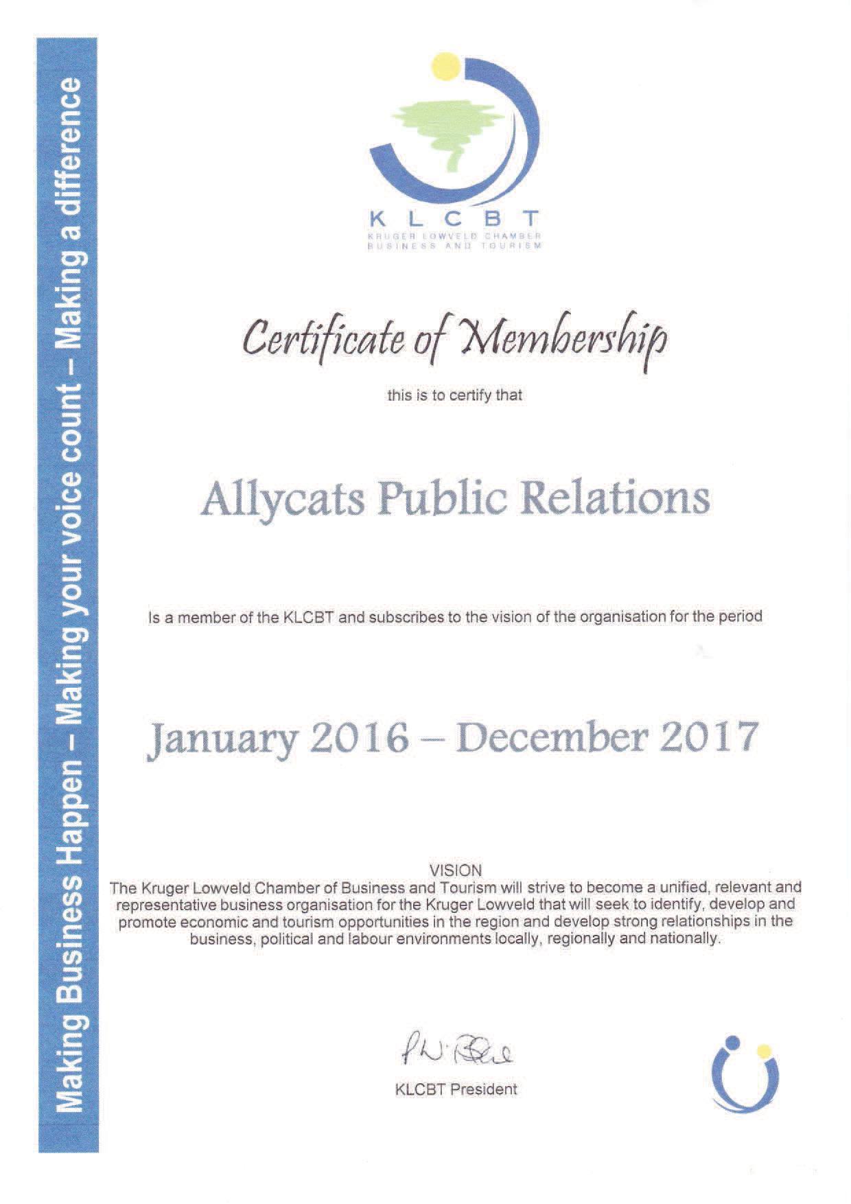 KLT membership